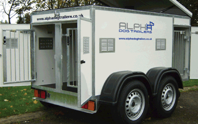 For further details of this service please contact us. Please also view our  product range of trailers, kennel systems and in-car transport boxes.