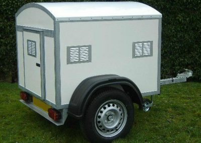 Single Compartment Fixed Roof Trailer